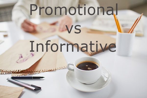 Promotional vs Informative In Content Marketing And SEO